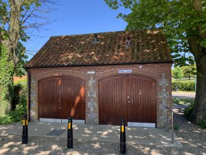 Blakeney Public Toilets by Village Hall