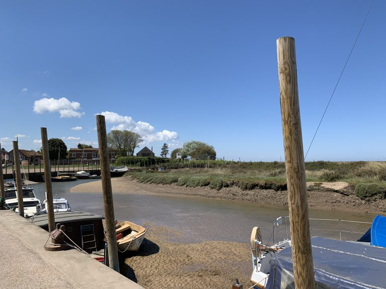 Blakeney Quay looking North West