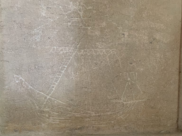 St Nicholas Church Ship Graffiti