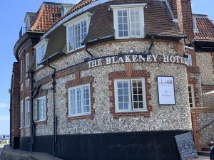 The Blakeney Hotel Looking East