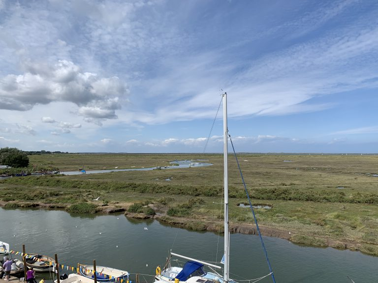 Blakeney Quay and Marshes