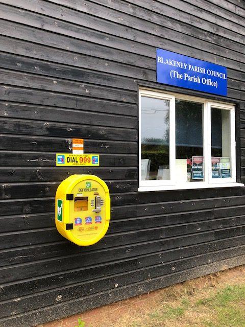 Parish Office Defibrillator
